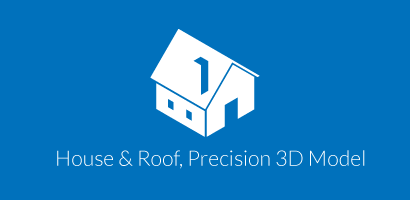 House & Roof, Precision 3D Model logo