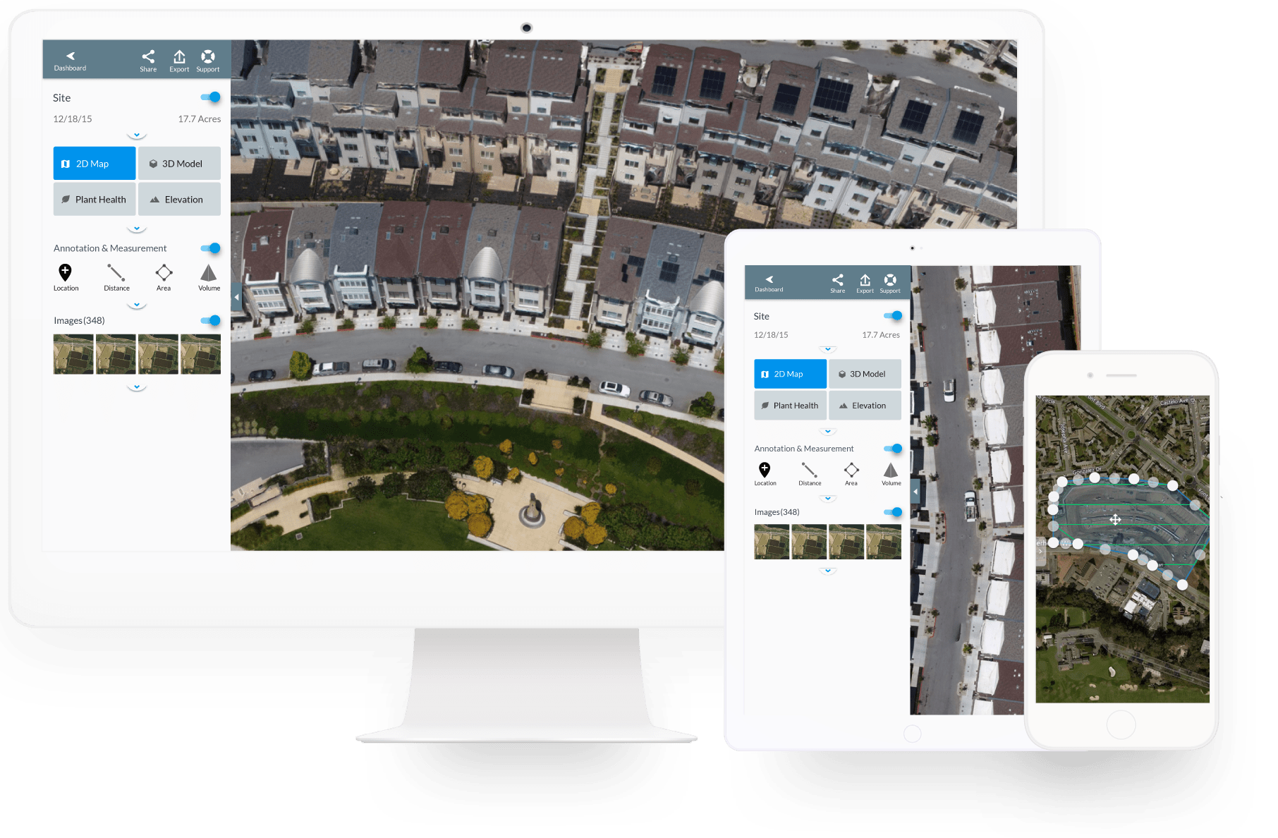 Powerful drone uav mapping software dronedeploy for Building mapping software