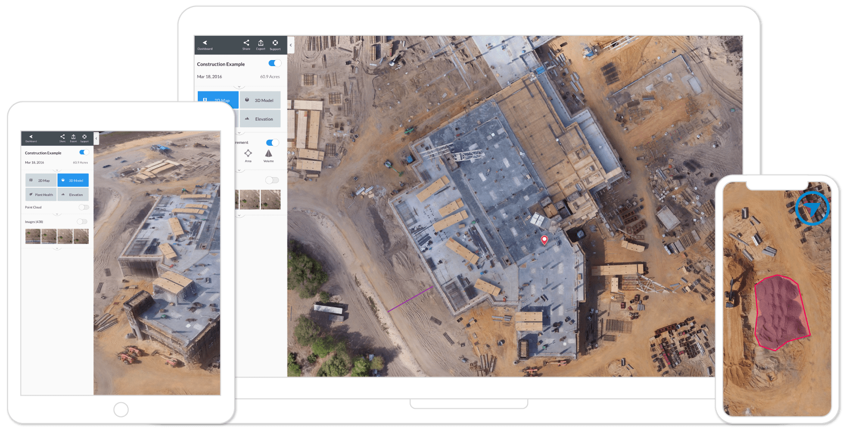 Powerful Drone UAV Mapping Software DroneDeploy - Drone mapping jobs